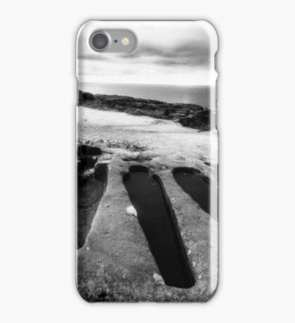 Stone Coffins in Heysham iPhone Case/Skin