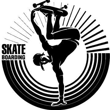 Skate boarding by titajongbatu