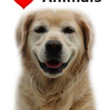 Animal Dog Design by Makky