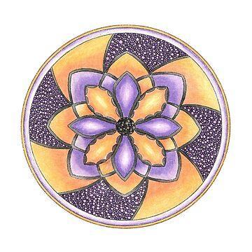 mandala 4 by yayamerino