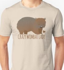 Crazy wombat lady Unisex T-Shirt