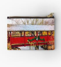 Gardner Village - Christmas Bridge Studio Pouch
