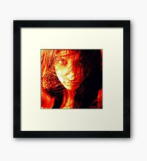 Tough life Framed Print