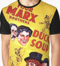 The Marx Brothers - Duck Soup Graphic T-Shirt