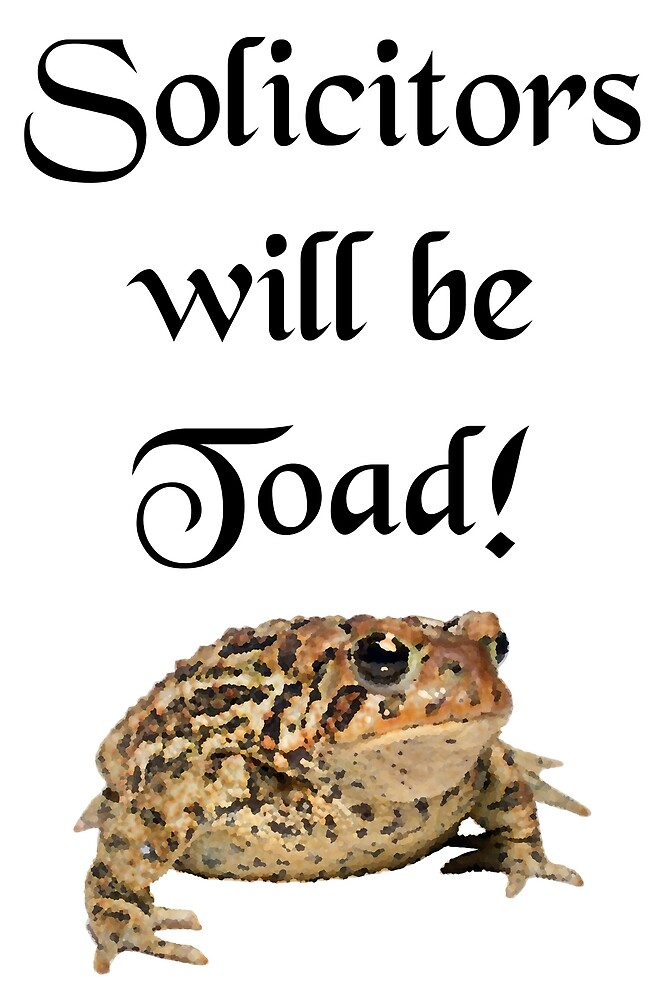 Solicitors will be Toad by svehex