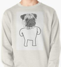 Standing Pug Pullover