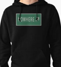 Road sign Nowhere  T-Shirt