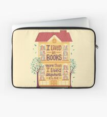 Lived in books Laptop Sleeve