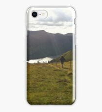 Walking in the Hills iPhone Case/Skin