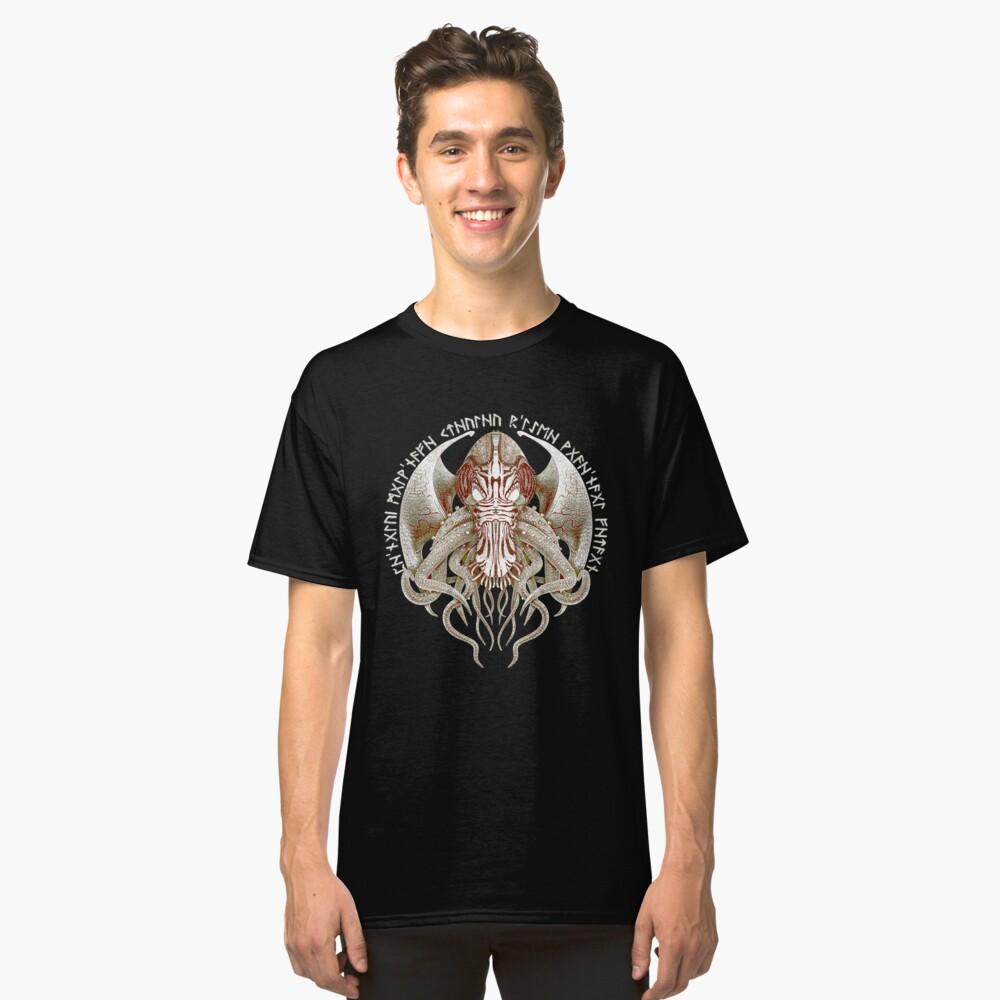 Cthulhu Got Wings Steampunk T-Shirts Classic T-Shirt