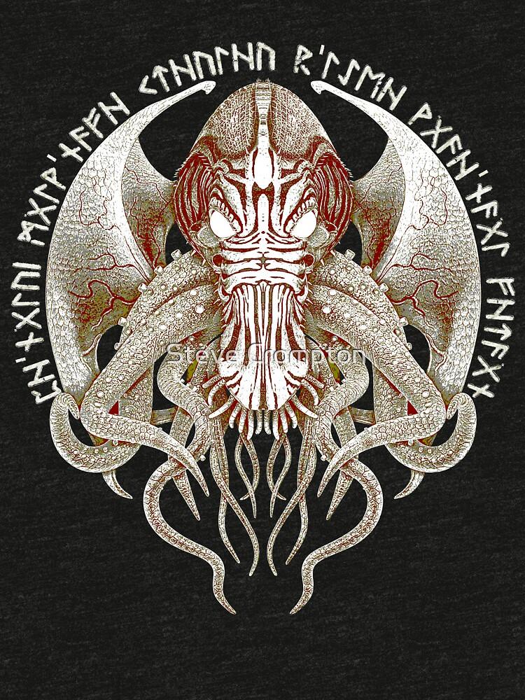 Cthulhu Got Wings Steampunk T-Shirts by SC001