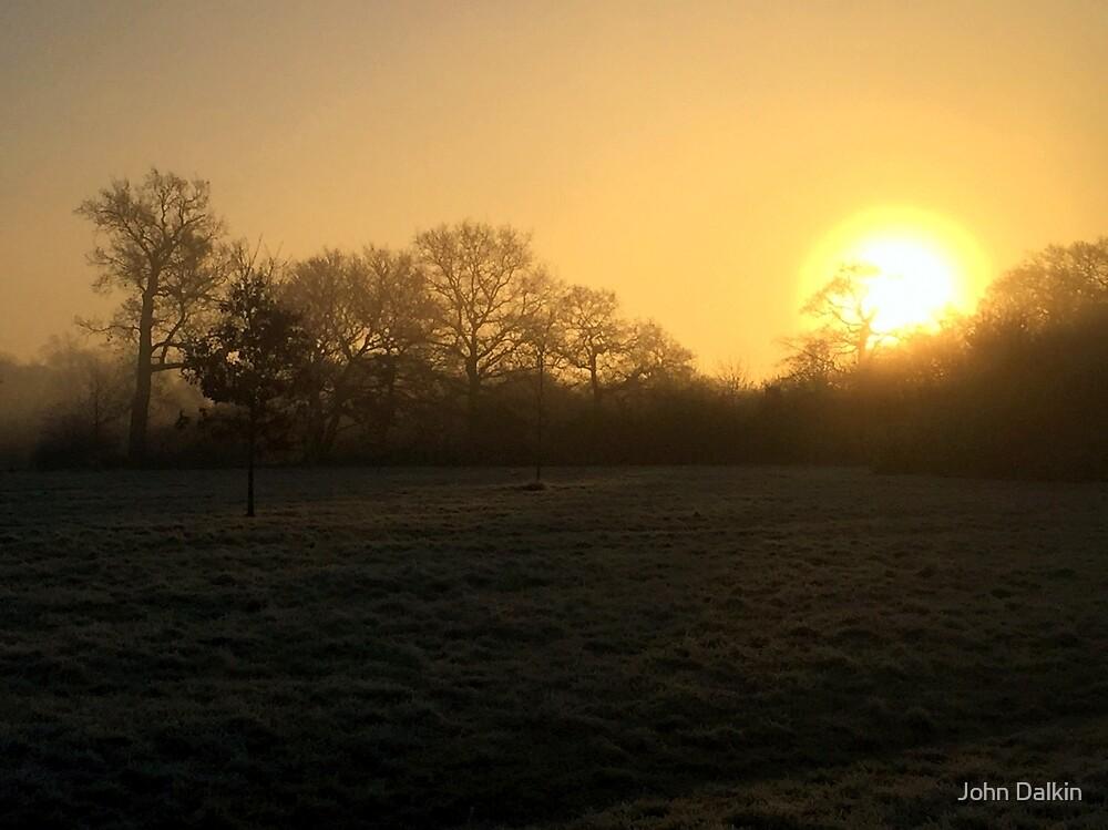 Misty Sunrise by John Dalkin