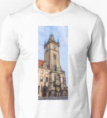 Prague Astronomical clock, Orloj, Czech Republic T-Shirt