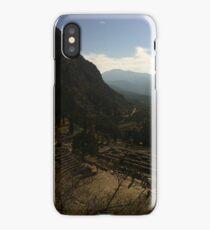 Ancient amphitheatre, Delphi iPhone Case/Skin