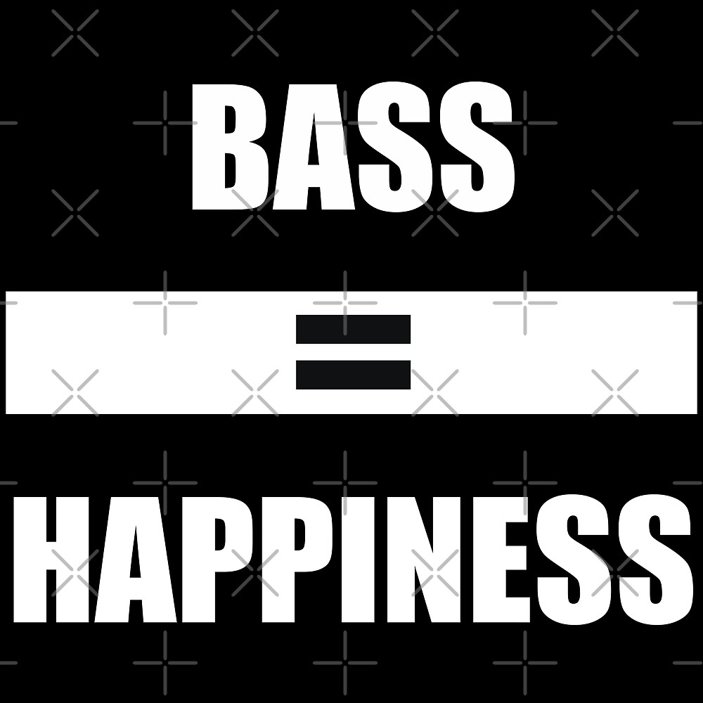 Bass Equals Happiness by MandalaPics