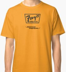 Fay's Drugs | the Immortal Yellow Bag Classic T-Shirt