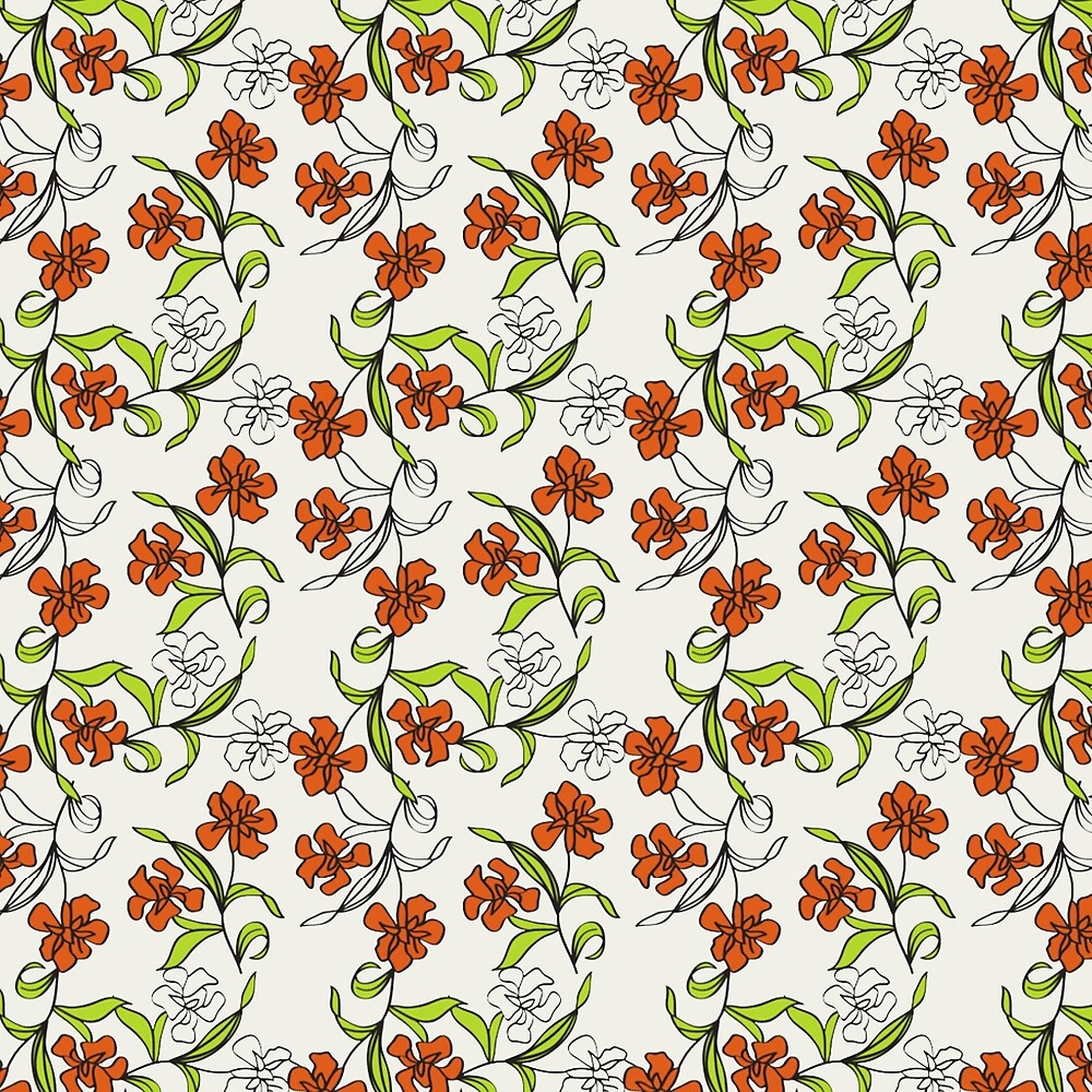 Floral Background  by holidayfashion