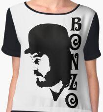 SOLID BLACK BONZO Chiffon Top