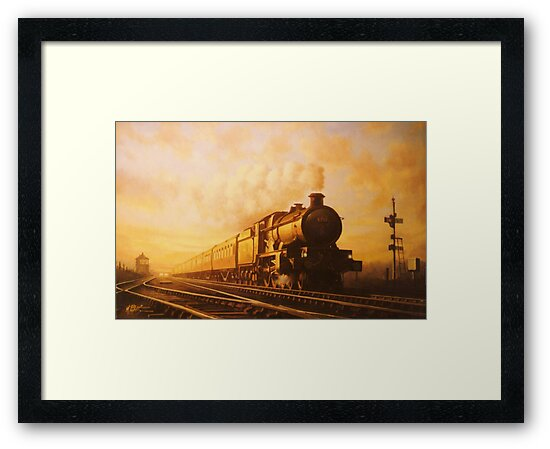 Up express to Paddington by Mike Jeffries