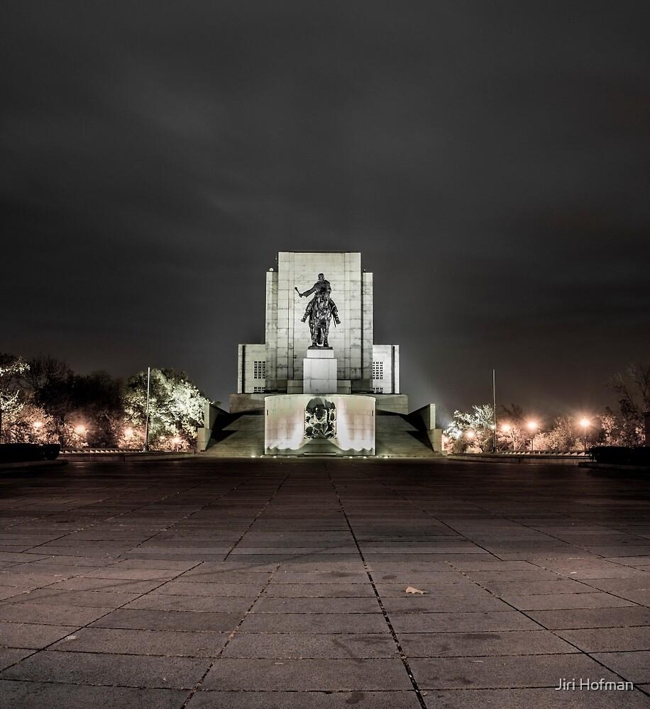 Vitkov National Memorial by Jiri Hofman