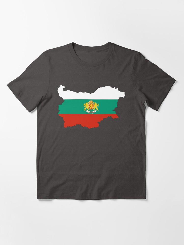 Bulgarian Map Flag Arms Bulgaria T-Shirt All Sizes