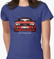 Fire Up the Quattro! Women's Fitted T-Shirt