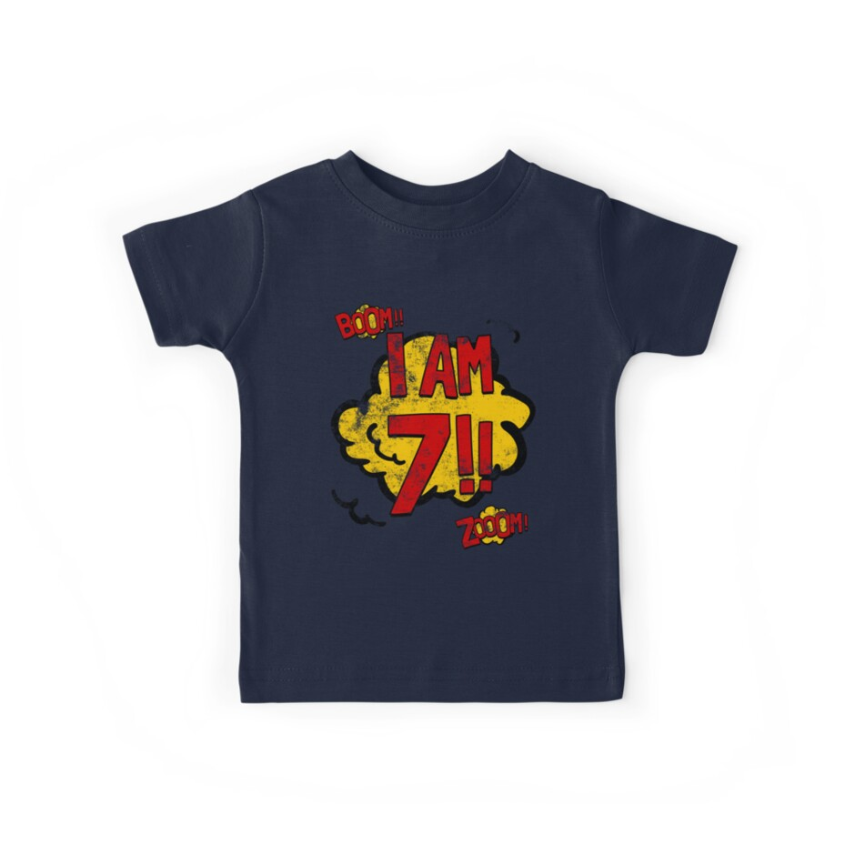 Superhero 7th Birthday Party by superpartytees