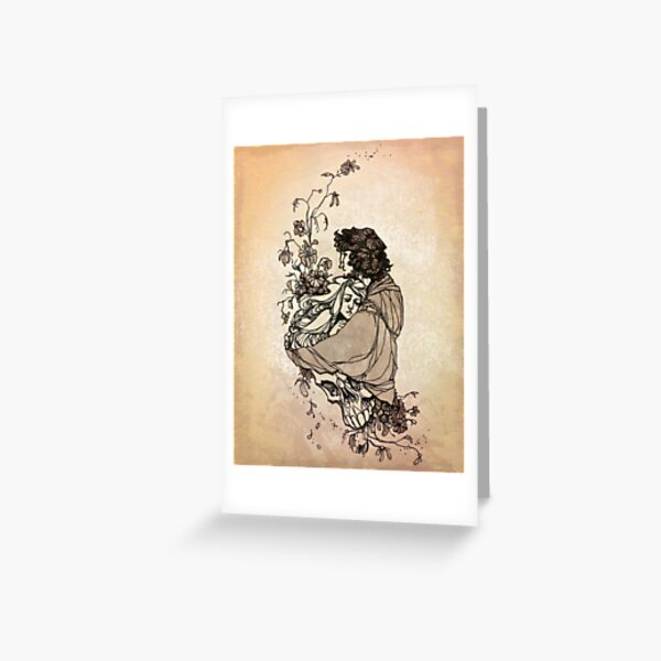 Hades and Persephone Greeting Card
