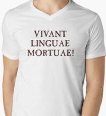 Long Live Dead Languages - Latin Men's V-Neck T-Shirt