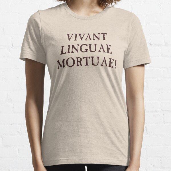 Larga vida a los idiomas muertos - latín Camiseta esencial