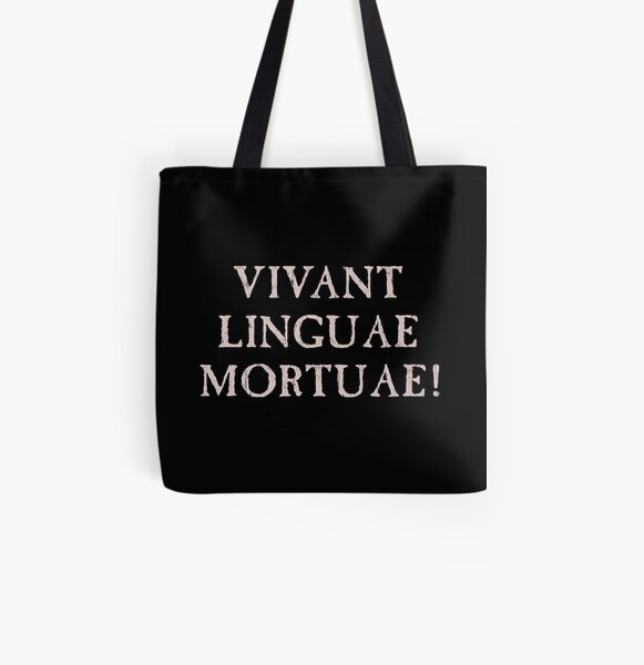 Long Live Dead Languages - Latin All Over Print Tote Bag