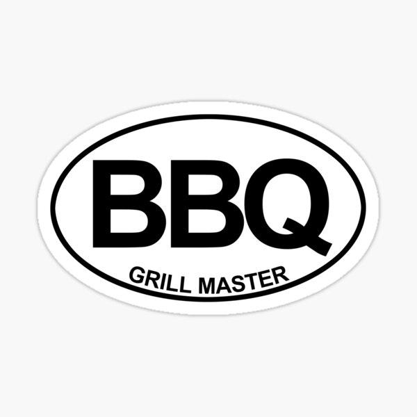 BBQ Master  Sticker