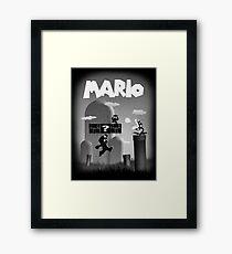 Mario in Limbo  Framed Print