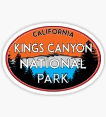 KINGS CANYON NATIONAL PARK CALIFORNIA MOUNTAINS HIKE HIKING CAMP CAMPING Sticker