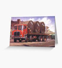 BRS AEC Mammoth Major MkV Greeting Card