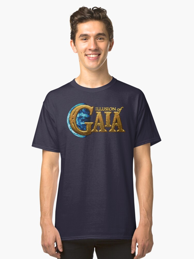 Illusion of Gaia (SNES Title Screen) Classic T-Shirt Front