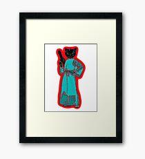 Princess Leicat Framed Print