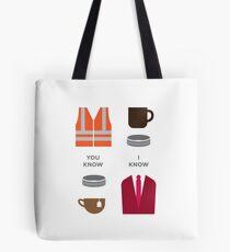Robron Icons Tote Bag