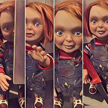 Good Guy Doll - Chucky's Revenge by stevepound1987