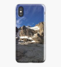 Fresh Snow in the Mountains iPhone Case/Skin
