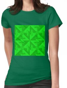 Eyes of Lexus - Green Womens Fitted T-Shirt