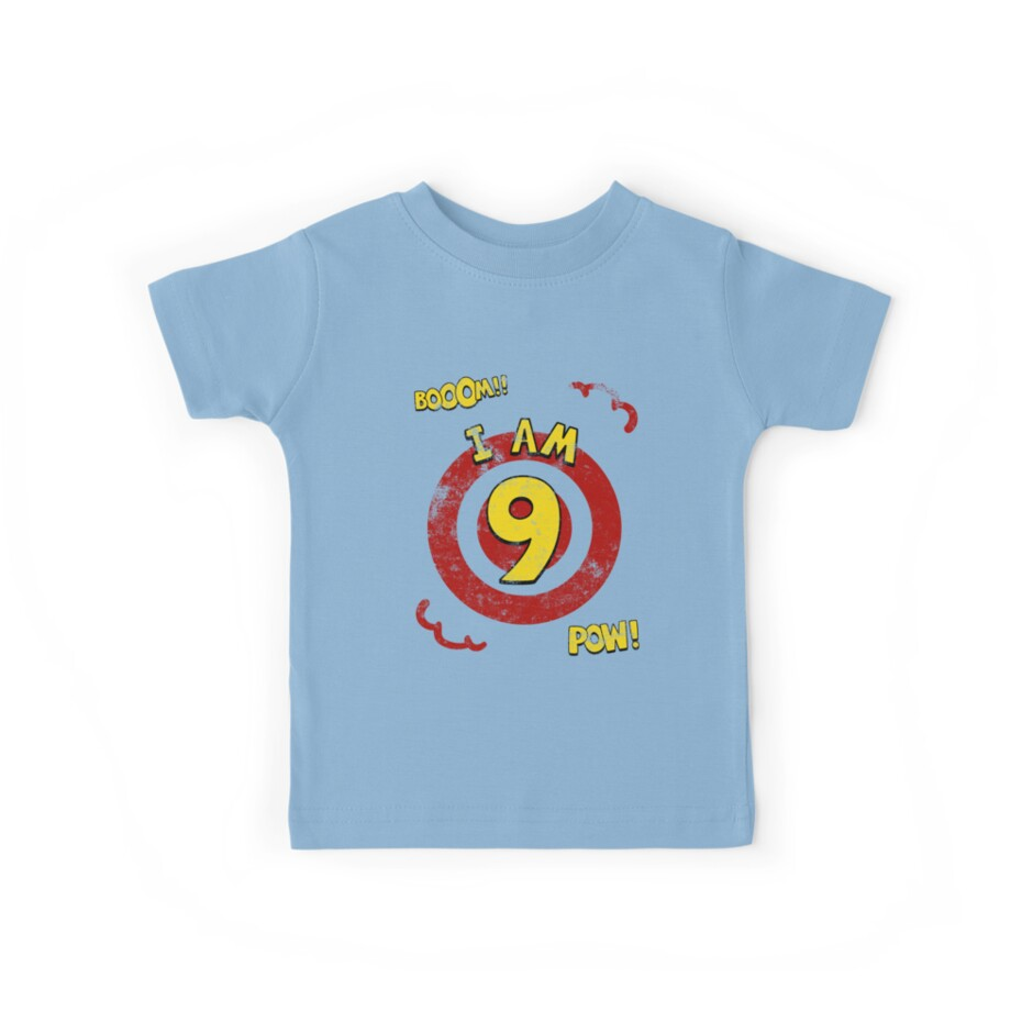 Action hero 9th Birthday Party by superpartytees