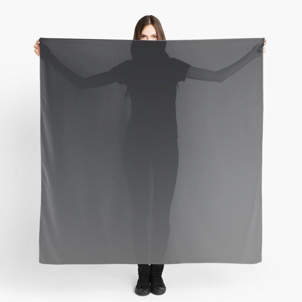 black grey gradient Scarf