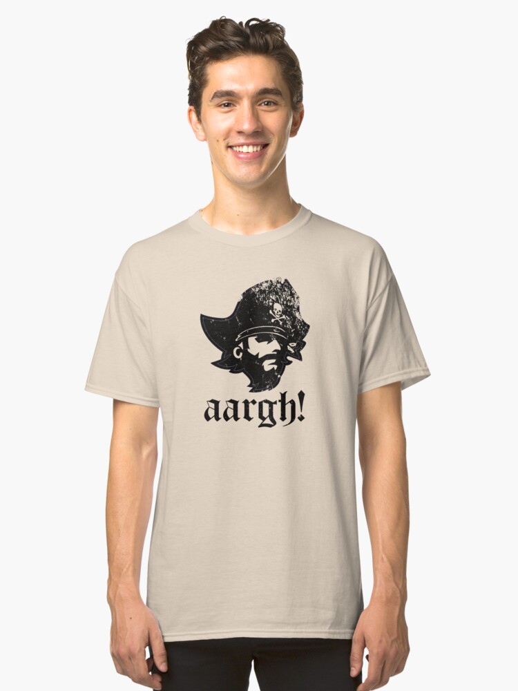 aargh! Classic T-Shirt Front