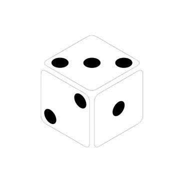 DICE GAME T-SHIRT by Ninjas