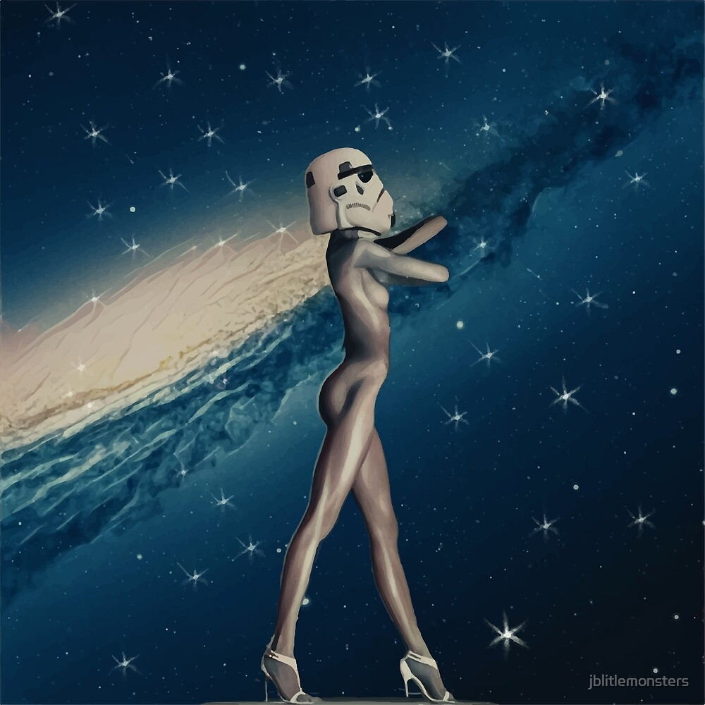 Cosmic girl by jblittlemonsters