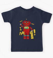 Retro Robot 1st Birthday Party Kids Clothes