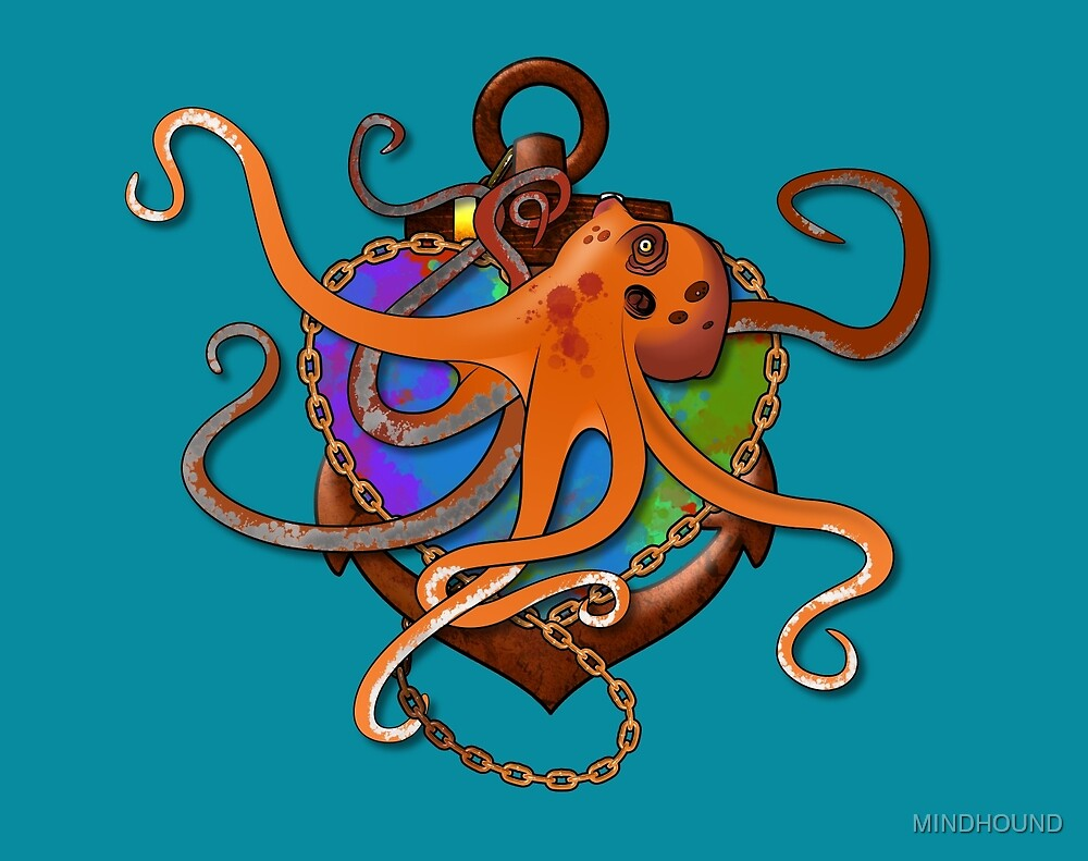 I HEART OCTOPI by MINDHOUND