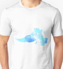 The flight of a blue dove  T-Shirt