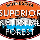 SUPERIOR NATIONAL FOREST MINNESOTA FISHING HIKING CAMPING by MyHandmadeSigns